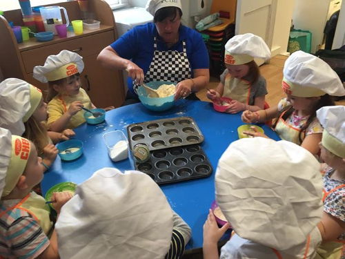 Happy Days Nursery Chef Club
