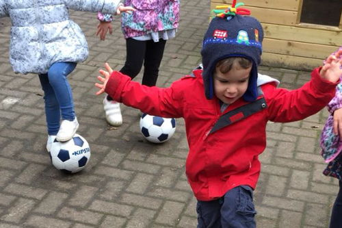 Happy days Nursery Football