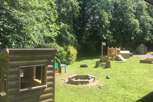 Happy Days Nursery Dalkeith Garden View