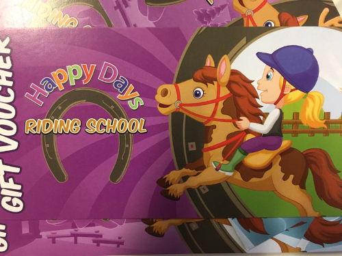 Happy Days Pony Riding School Gift Vouchers