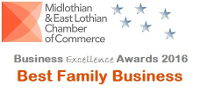 Midlothian and East Lothian Chamber of Commerce-Best Family Business 2016