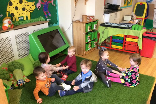 Nursery Times Paisley Babies and Tweenies