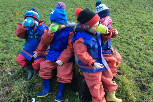 Nursery Times Paisley Forest Schools Outdoor